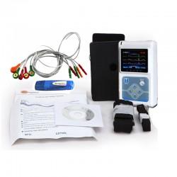 Holter ECG Sistema de Monitoreo TLC9803 3 Canales