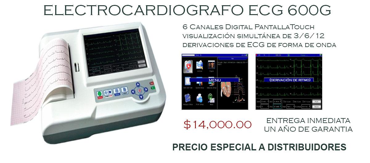 ECG 600G Electrocardiógrafo ECG 600G