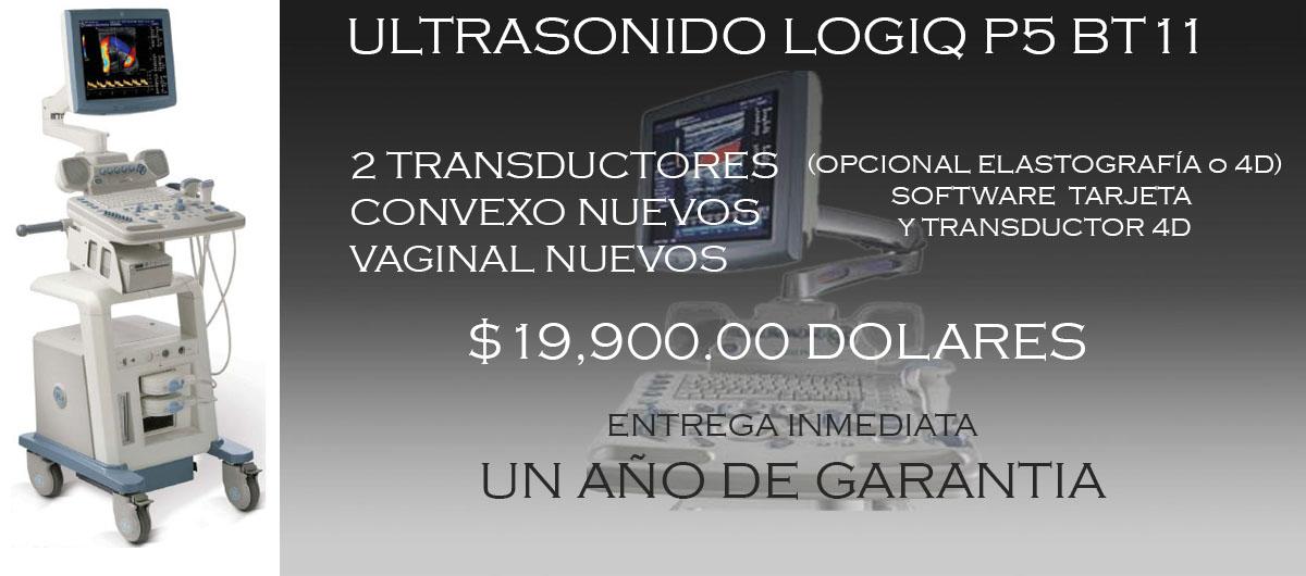 LOGIQ P51 Ultrasonido LOGIQ P5