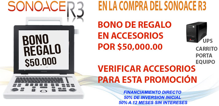 BONO R3 Ultrasonido Sonoace R3